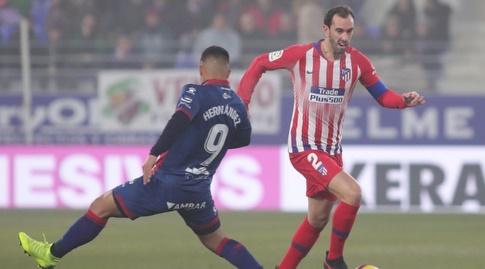 דייגו גודין מול קוצ'ו הרננדס (La Liga)