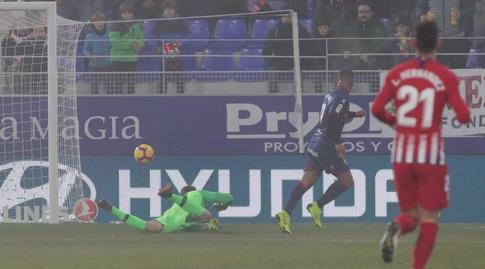קוצ'ו הרננדס וההחמצה מול יאן אובלק (La Liga)