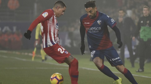 הנריק גאייגו עם הכדור מול חוסה חימנס (La Liga)