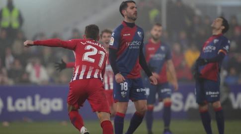 לוקאס הרננדס חוגג (La Liga)