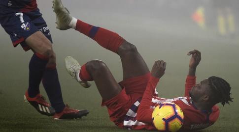 תומאס פארטה על הדשא (La Liga)