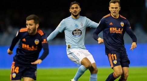 דני צ'רישב וחוסה גאיה מנסים לצאת קדימה (La Liga)