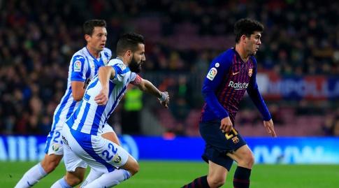 קרלס אלנייה עם הכדור (La Liga)