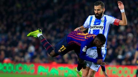 אוסמן דמבלה מוכשל (La Liga)