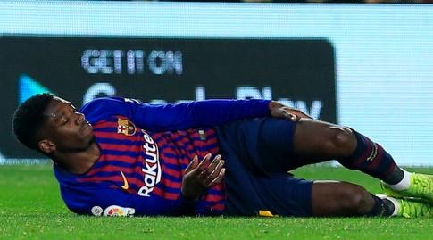 אוסמן דמבלה על הדשא (La Liga)