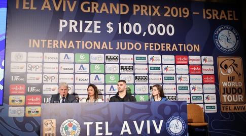 מסיבת העיתונאים לקראת הטורניר (רדאד ג'בארה)