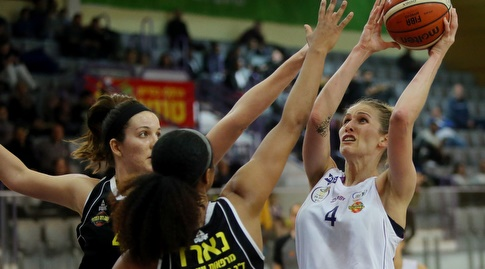 קטיה לויצקי (אודי ציטיאט, באדיבות מנהלת ליגת העל לנשים בכדורסל)