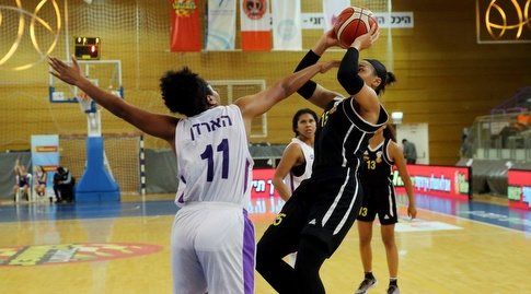 אלישיה גרי (אודי ציטיאט, באדיבות מנהלת ליגת העל לנשים בכדורסל)
