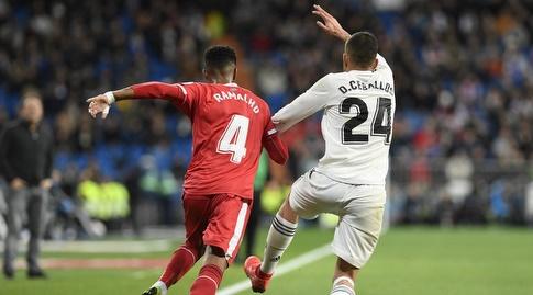 דני סבאיוס רודף אחרי ז'ונאס רמאליו (La Liga)
