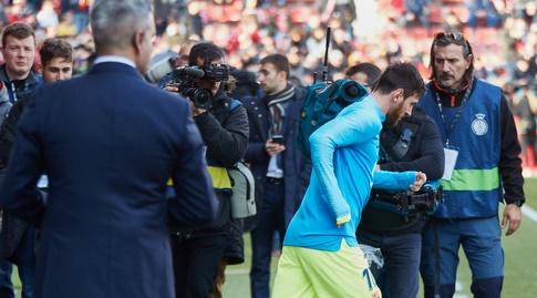 ליאו מסי עולה למגרש (La Liga)