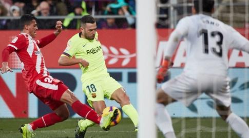 ג'ורדי אלבה ברחבה (La Liga)