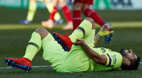 לואיס סוארס מתוסכל (La Liga)