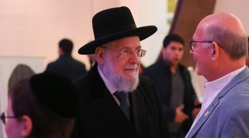 הרב הראשי לישראל מאיר לאו (אחמד מוררה)