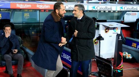 ארנסטו ואלוורדה ופבלו מאצ'ין (La Liga)