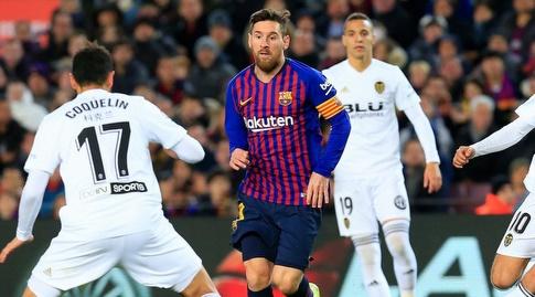 ליאו מסי מול פרנסיס קוקלאן (La Liga)