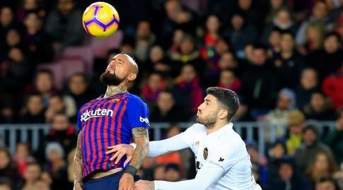 ארתורו וידאל נוגח (La Liga)
