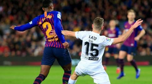 טוני לאטו נאבק בנלסון סמדו (La Liga)