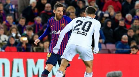 פראן טורס מול ליאו מסי (La Liga)