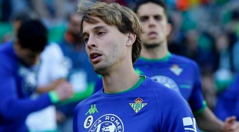 סרחיו קנאלס בחימום (La Liga)