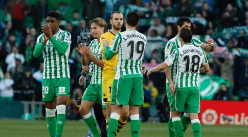 שחקני בטיס בסיום (La Liga)