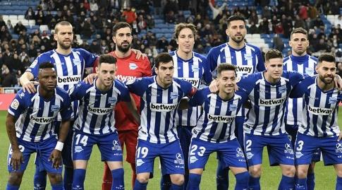שחקני אלאבס בתמונה הקבוצתית (La Liga)