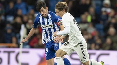 לוקה מודריץ' מול מאנו גארסיה (La Liga)