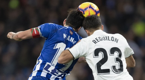 סרחיו רגילון נוגח מול מאנו גארסיה (La Liga)