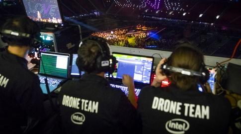 צוות מטיסי הרחפנים (Intel Corporation)
