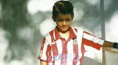 אלברו מוראטה. כבר בגיל 12 אתלטיקו חשקה בו (אינסטגרם)