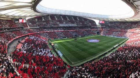 מבט נוסף אל הוונדה מטרופוליטנו (La Liga)