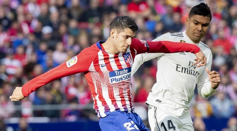 קאסמירו מול אלברו מוראטה (La Liga)