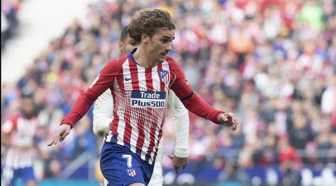 אנטואן גריזמן מתקדם עם הכדור (La Liga)