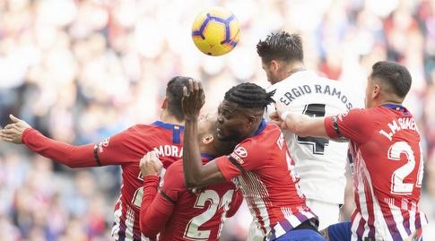 סרחיו ראמוס נוגח (La Liga)