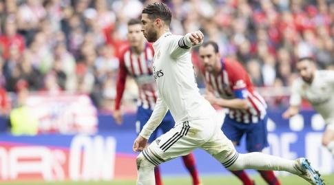 סרחיו ראמוס בועט (La Liga)