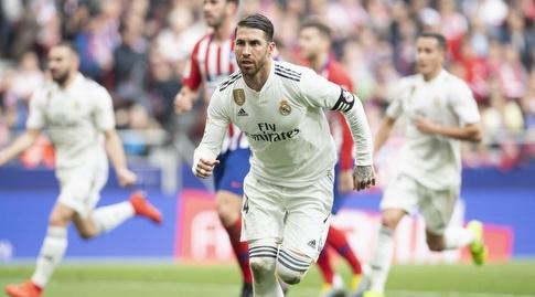 סרחיו ראמוס רגע אחרי השער (La Liga)