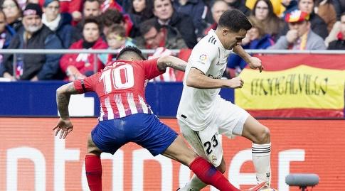 אנחל קוראה מכשיל את סרחיו רגילון (La Liga)