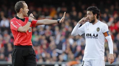 דני פארחו בשיחה עם השופט (La Liga)