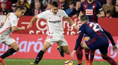 אנדרה סילבה מנסה לעבור (La Liga)