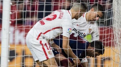 סביליה כובשת שער מצמק (La Liga)