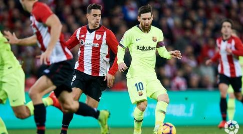 דני גארסיה אורב לליאו מסי (La Liga)
