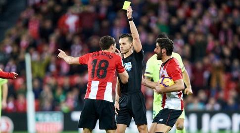 אוסקר דה מרקוס רואה את הצהוב השני (La Liga)