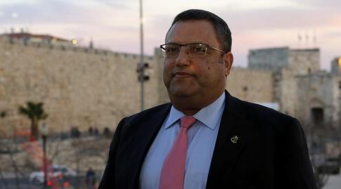 משה ליאון ראש עיריית ירושלים (אורן בן חקון)