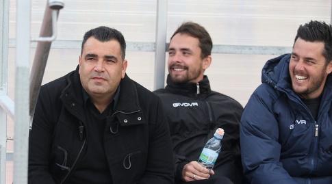 מנחם קורצקי, דני בונדר ותמיר כהן (שחר גרוס)