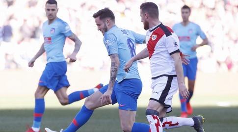 סאול ניגס עם הכדור (La Liga)