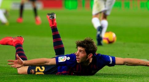 סרג'י רוברטו על הדשא (La Liga)