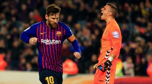 ג'ורדי מאסיפ מאוכזב, ליאו מסי חוגג (La Liga)
