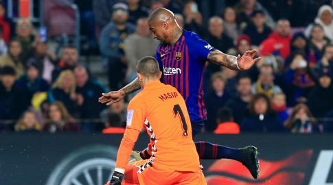 קווין פרינס בואטנג מול ג'ורדי מאסיפ (La Liga)