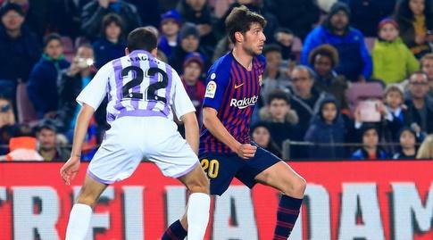 סרג'י רוברטו עם הכדור (La Liga)