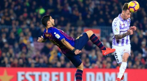 לואיס סוארס. הגיע להזדמנויות, אך לא היה חד בחצי השעה בה שיחק (La Liga)