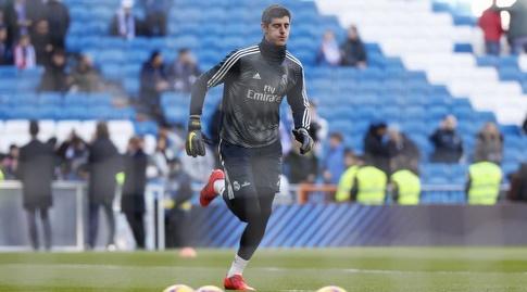 טיבו קורטואה בחימום (La Liga)